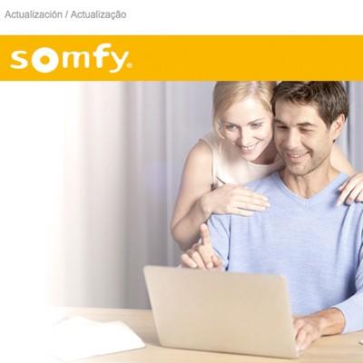 Actualizar Tahoma Somfy