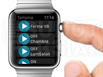 Controlar tus persianas con Apple Watch