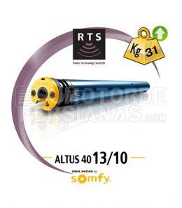 Motor Somfy 40mm RTS ALTUS 13/10