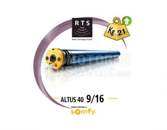 Motor Somfy 40mm RTS ALTUS 9/16
