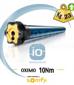 Motor Somfy iO Oximo para persiana 10 Nm
