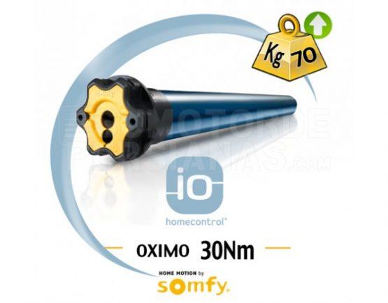 Motor Somfy iO Oximo para persiana 30 Nm