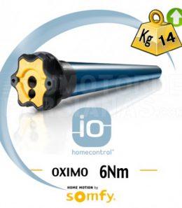 Motor Somfy iO Oximo para persiana 6 Nm