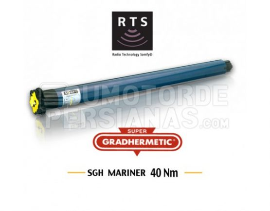 Motor Somfy Mariner Supergradhermetic RTS 40Nm