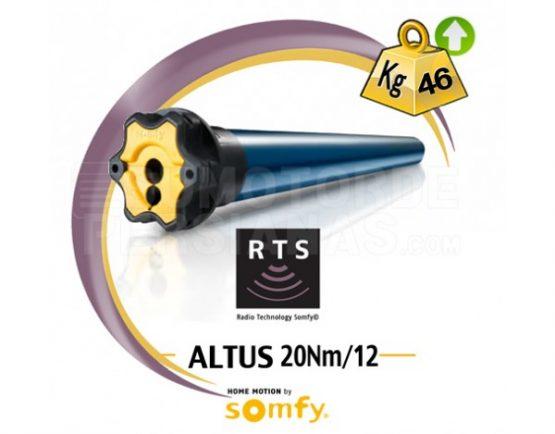 Motor Somfy RTS Altus genérico 20Nm