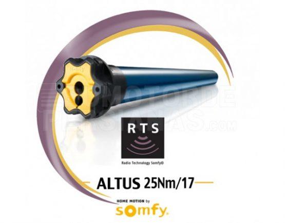 Motor Somfy RTS Altus genérico 25Nm