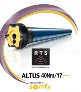 Motor Somfy RTS Altus genérico 40Nm