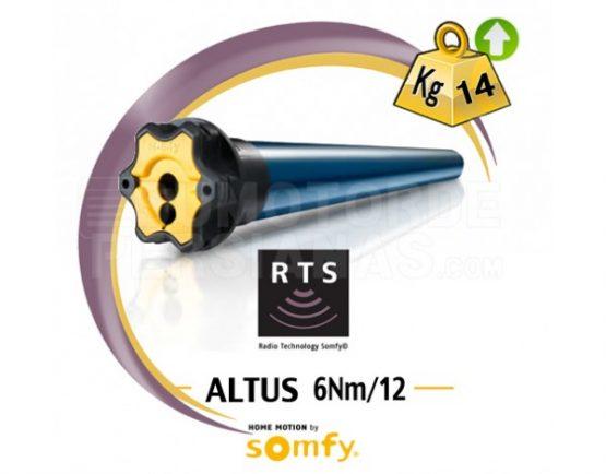Motor Somfy RTS Altus genérico 6Nm