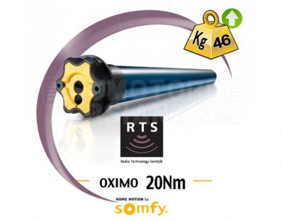 Motor Somfy RTS Oximo para persiana 20Nm