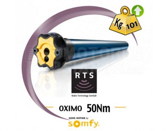 Motor Somfy RTS Oximo para persiana 50Nm