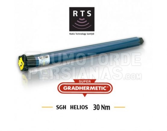 Motor Somfy Supergradhermetic RTS 30Nm