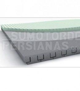 Panel aislante de cajón de persiana