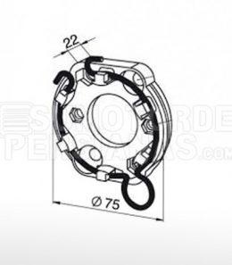 Soporte motor Somfy Universal