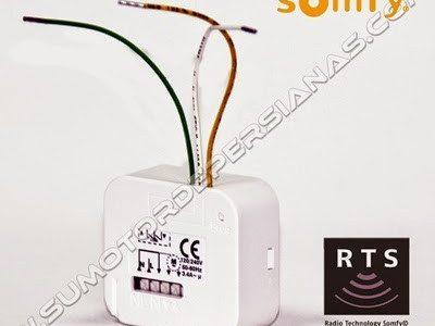 Poner receptor radio a persiana ya motorizada
