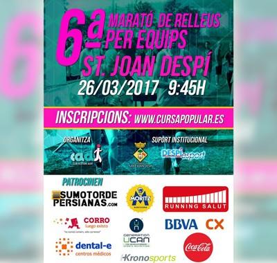 Sumotordepersianas.com patrocinador de la Marató per Relleus a Sant Joan Despi