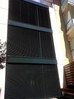 Instalación de persianas orientables Grinotex Griesser