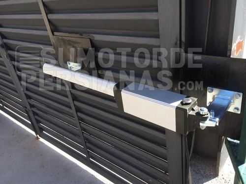 Instalacion motor automático cancelas dos puertas Somfy Ixengo