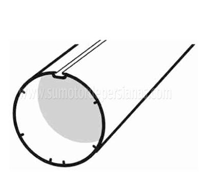 Tipos de ejes de persiana comunes