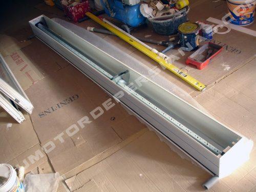 Cajon térmico para persianas exteriores con motor