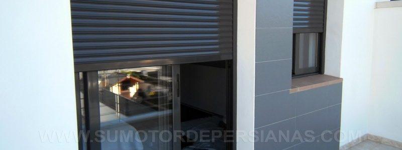 Instalar persianas Seguridad con motores Somfy en Barcelona