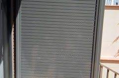 Persiana de aluminio estrusión con interruptor sin cables