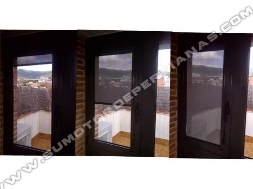 Cortinillas Stores para ventanas y puertas sobrepuestas