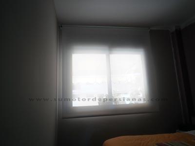 Poner un Motor Somfy a stores o cortinas enrollables