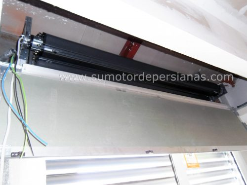 Persianas Super-Gradhermetic con motor arrollamiento interior