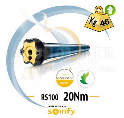 El mejor motor Somfy precio
